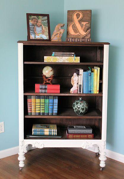 B & A dresser bookcase